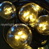 LED-Zeichenkette beleuchtet Zeichenkette-Licht der Kugel-G45 für im Freiengarten-Gebrauch