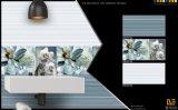 Azulejo esmaltado de cerámica de la pared de la porcelana del material de construcción