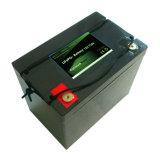 bateria elétrica da motocicleta de 12V 80ah LiFePO4 com BMS