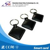 Wasserdichtes RFID ledernes Keyfob