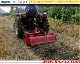 L'entraîneur a monté la mini talle agricole de Rotavator