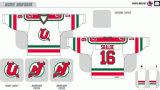 Hokey di ghiaccio americano personalizzato dei diavoli 1987-1993 di Utica della Lega di Hockey dei capretti delle donne degli uomini Jersey