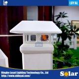 Mejor precio leal ISO9001 de 3,5'' pulgadas blanco verde Post LED Sensor Solar Panel solar al aire libre la luz