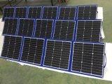 200W panel solar plegable de tela para casa móvil de fuente de alimentación
