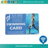 Alta calidad tarjeta de membresía CR80 promocional de PVC Gimnasio