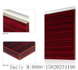 PVC Edge를 가진 Glossy 높은 UV MDF Kitchen Cabinet Door