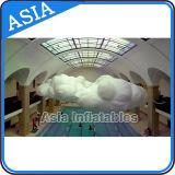 Énorme Nuage de ballon avec des voyants LED, éclairage Cloud ballon gonflable