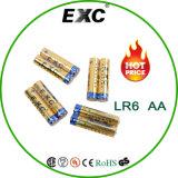Leistungsfähige Energie Pro-Umgebung 1.5V Batterie Lr6 der trockenen Batterie-AA