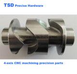 스테인리스 정밀도 나사, 정밀도 연결관, CNC 기계로 가공 부속, 공작 기계 기계로 가공 부속, 예비 품목을 기계로 가공하는 CNC