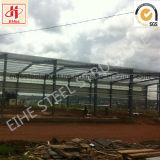 Estructura de acero de la luz de almacén de fabricación