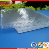 蜜蜂の巣のポリカーボネートシートのプラスチック屋根ふきの太陽電池パネル(YM-PCHS-06)