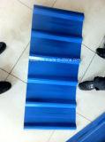 Metal Sheet/665mm Ibr de la onda de agua/hoja acanalada del material para techos del color