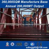 La norme ISO 9001 Ohsas 18001 Structure en acier au carbone à usage intensif