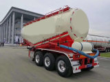 La fabbrica fornisce il rimorchio materiale del serbatoio del cemento dei 3 assi della polvere di trasporto in autocisterna semi della polvere materiale all'ingrosso del rimorchio semi