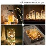 Alambre de cobre Home Ornamento de Navidad decoración de la Mesa de luz de la cadena de LED
