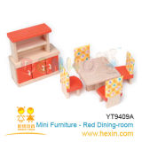 Mini Dining-Room Furniture-Red (YT9409A)