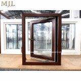Doble acristalamiento solo colgado de la ventana de aluminio con guillotina tormenta vía