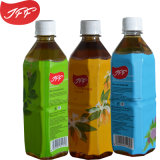 El té verde botella de bebida en frascos cuadrados 500ml