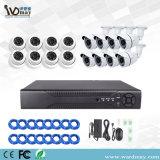 Wdm CCTV 16SHC 1.0/2.0MP Poe Kits NVR de sécurité
