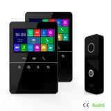 メモリ通話装置のホームセキュリティービデオ4.3インチのドアベルのインターホンのDoorphone