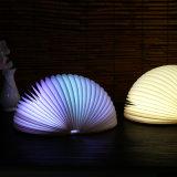 최신 판매 7 색깔  Telecontrol 반원 책 램프