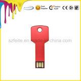 Содействие компании подарок основные формы металлические USB ключ USB