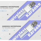 Altoparlante senza fili del microfono di karaoke di Bluetooth con il TF Card/USB