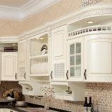 La moderna cocina de madera simple mobiliario interior del gabinete (YH-KC1006)