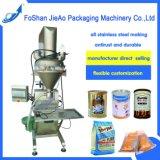 Semiautomáticos farinha/café/leite/especiarias/alimentos para embalagem de pó/máquina de embalagem (TG-15/30/50)