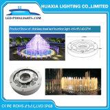 9W 27watt IP68 impermeabilizzano gli indicatori luminosi subacquei del raggruppamento della fontana del LED