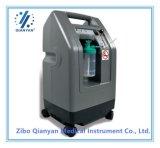 concentratore medico portatile dell'ossigeno di 5L 93% piccolo con l'allarme di scarsa purezza