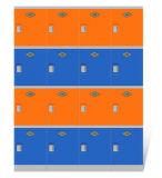 De plastic Openbare Kast van de Gymnastiek en van het Zwembad met Slot