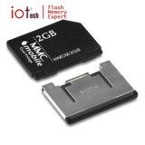 Scheda di memoria poco costosa all'ingrosso di DV RS MMC 2GB per l'unità