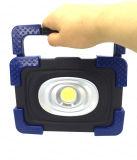 Алюминий портативный USB аккумулятор початков 10Вт Светодиодные фонаря направленного света с Банком