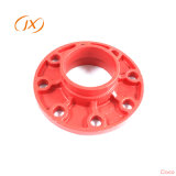 Fundición de hierro dúctil del tubo de brida de montaje con fábrica de China