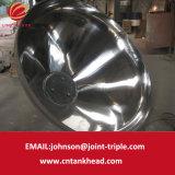 06-12 grande testa conica dell'acciaio inossidabile con Polished
