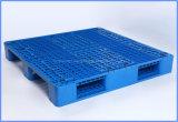 Liyang van uitstekende kwaliteit Drie de Hygiënische Plastic Pallet van Steunbalken met de Staven van het Staal