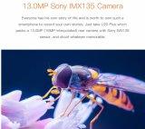 Oukitel U20 plus 4G Dubbele Mobiele Telefoon 5.5 van de Camera de Kern van de Vierling Mtk6737t van de Duim FHD de Androïde 2GB Vingerafdruk van ROM van RAM 6.0 16GB het Slimme Goud van de Telefoon