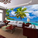 Обои ландшафта пляжа оптовой природы предпосылки печатание цифров высокого качества тропические