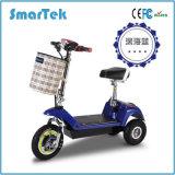 """Do balanço elétrico novo do auto de Escooter da patrulha do """"trotinette"""" 3wheels Trottinette Electrique dos triciclos de Smartek mobilidade elétrica Escooter da motocicleta com bateria 500-1 do LG"""