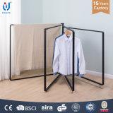 Große justierbare 4 Rahmen-Steppdecke-drehende Kleidung-Zahnstange