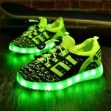 Girl Lighting Shoes 7 Light Color Carregador USB Shoes LED Lights