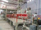 Alta capacidad de plástico de PVC bandera de la flexión de extrusión de película línea de producción