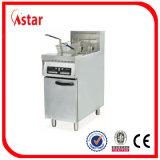 Micro friggitrice commerciale diritta libera di controllo di calcolatore, friggitrice profonda elettrica per la barra, ristorante