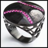 Циркон 316L кольцо ювелирных изделий из нержавеющей стали популярными в Китае
