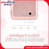 côté de pouvoir de caisse de clip de dos de batterie de Li-Polymère de 12000 heures-milliampère pour l'iPhone 6 positif