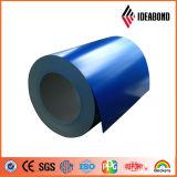 La couleur bleue a enduit la bobine en aluminium (l'enduit de polyester)