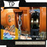 Polea de la cadena vital Bloquear/Elevador/mano cabrestante manual/elevador de cadena