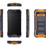 5-duim Draagbare Industriële Handbediende Computer, Ruwe Mobiele Slimme Telefoon met de Scanner van de Streepjescode