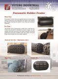 Sling Pneumatische Fender Weiß Schwarz für Schiffs-Dock verwenden